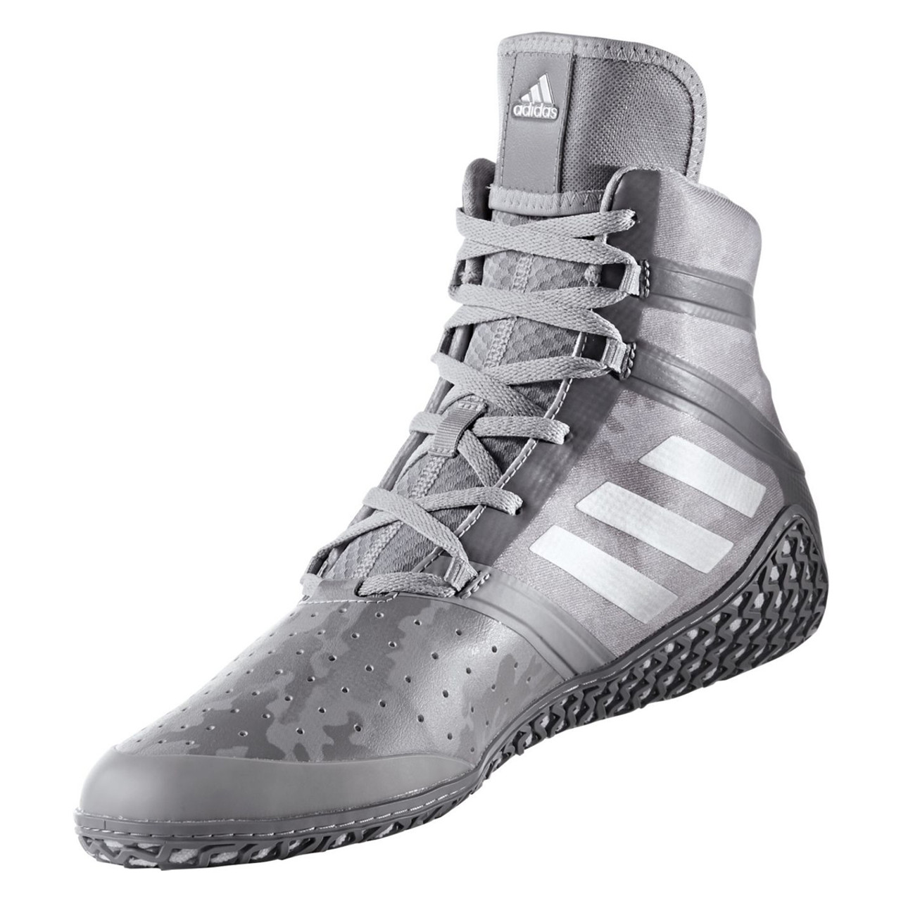 70dc9491e30fe Adidas Impact Men's Wrestling Shoes BY1579 - Gray Camo