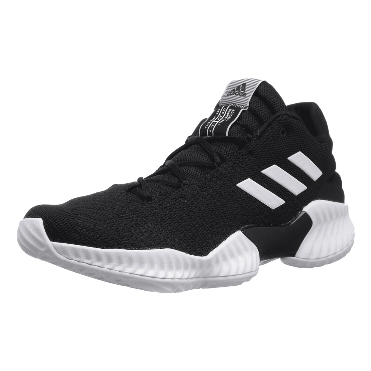 424876824 Adidas Pro Bounce Low Men s Basketball Sneakers AH2673 - Black ...