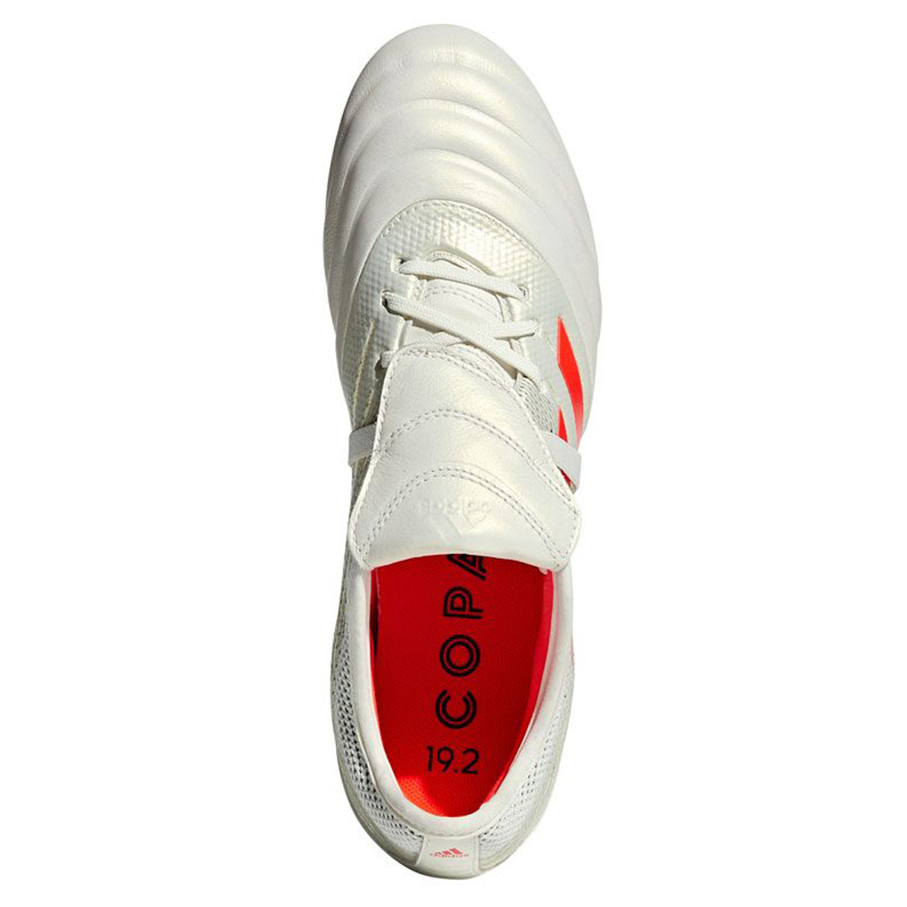 1342280b2 Adidas Copa Gloro 19.2 FG Men's Soccer Cleats D98060 - White, Solar Red