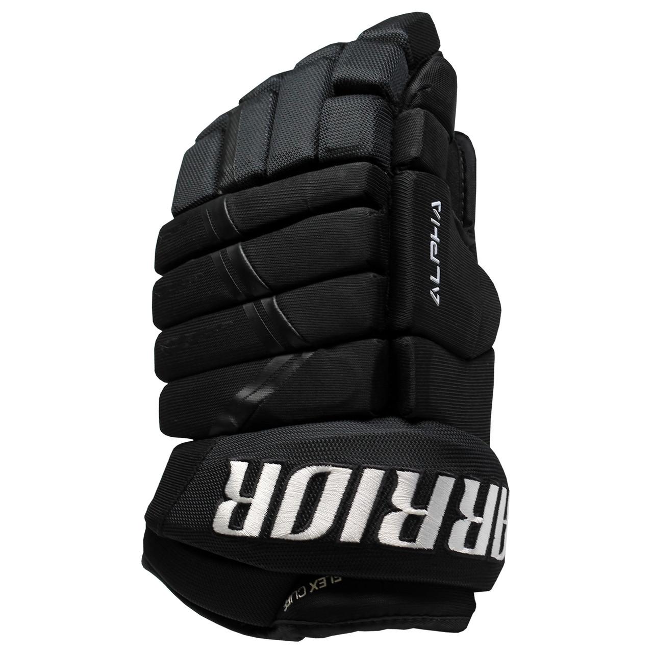 Warrior Alpha Force Pro DX 9 SMU Junior Hockey Gloves - Various Colors