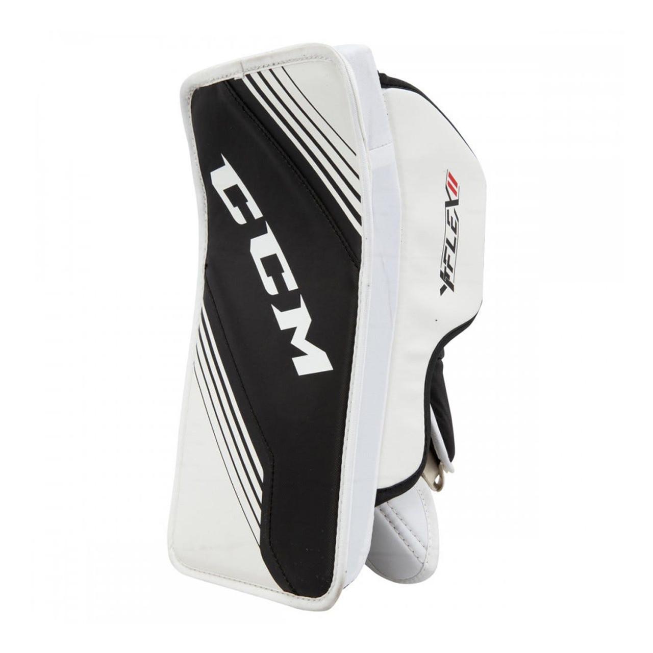 Ccm Ytflex 2 Youth Hockey Goalie Blocker White Black