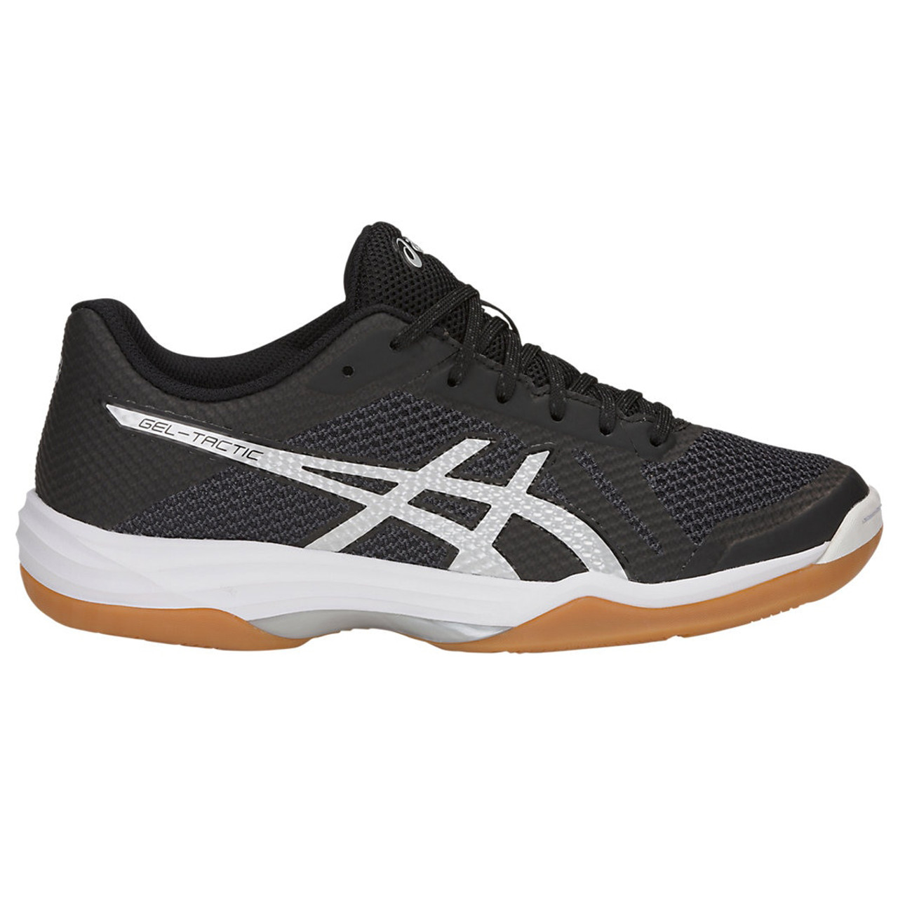 Asics women's gel tactic volleyball shoes (blacksilver