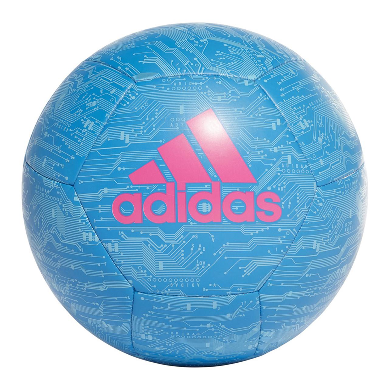a3b382031 Adidas Capitano Soccer Ball DY2570 - Bright Blue, Cyan, Pink