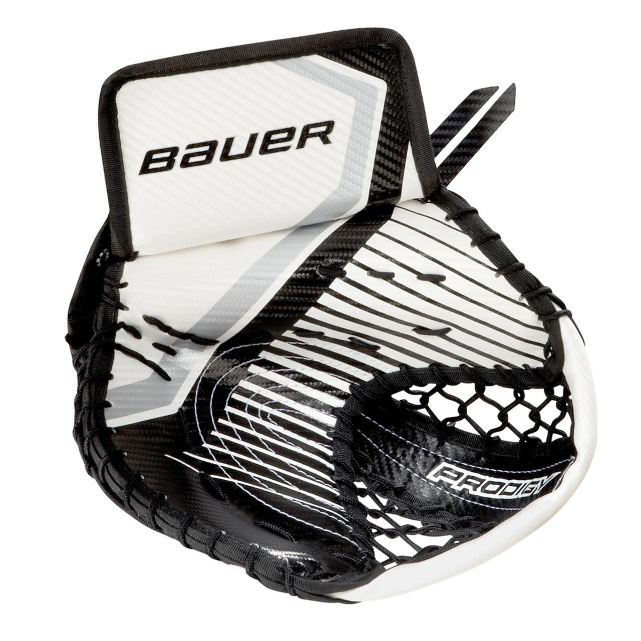 Bauer S17 Prodigy 3 0 Youth Hockey Goalie Catch Glove - White, Black