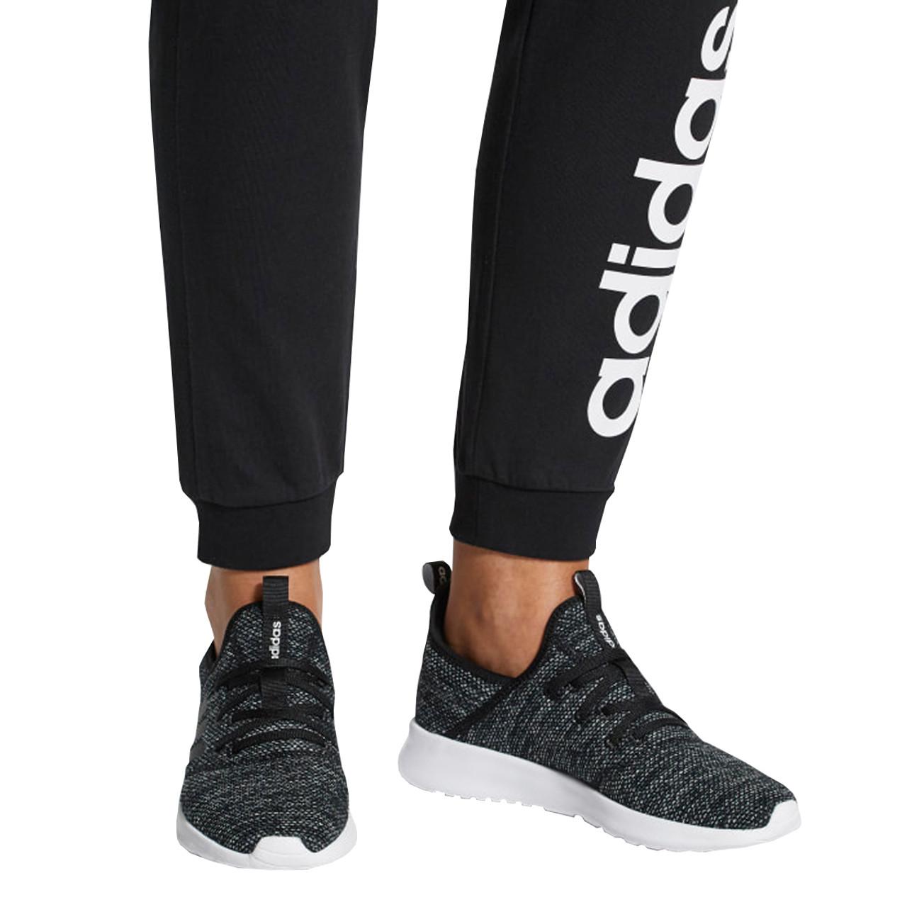 Adidas Cloudfoam Pure Women's Running Sneakers DB0694 - Black, White