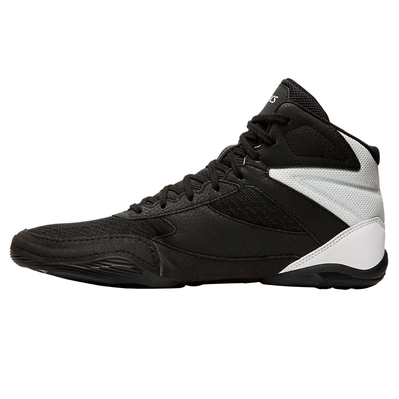 ee1b1e99 Asics Matflex 6 Adult Wrestling Shoes - Black, Silver