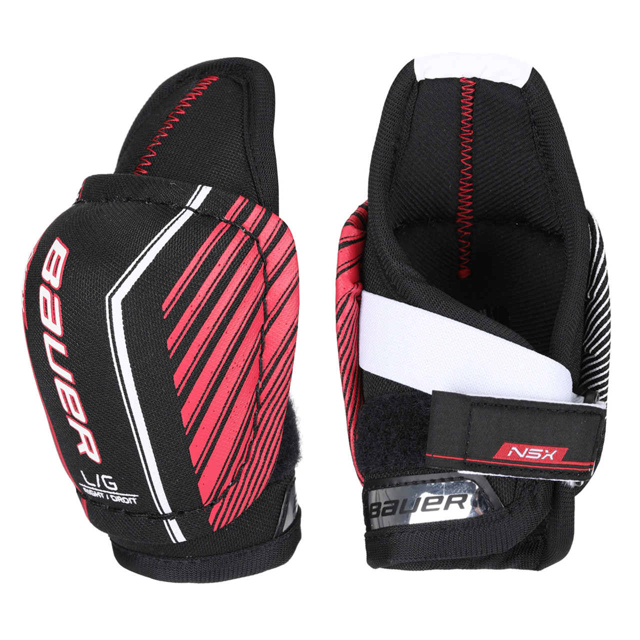 Bauer S19 NSX Youth Hockey Elbow Pads