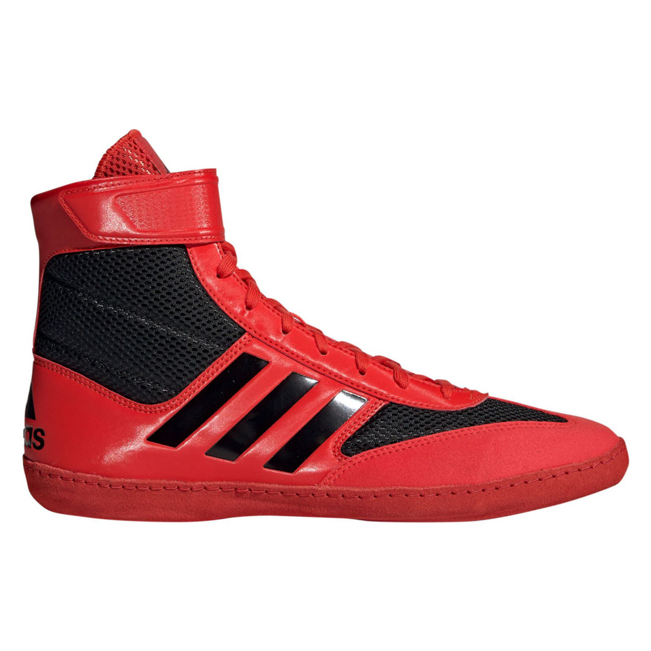Adidas Combat Speed 5 Adult Wrestling Shoes F99971 Red, Black