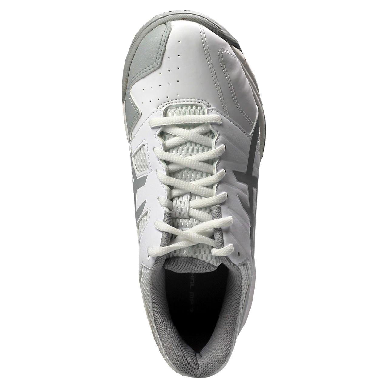 Asics Gel Lethal MP7 Women's Field Hockey Lacrosse Turf Cleats White, Gray