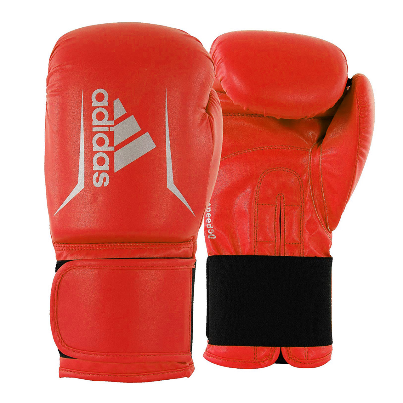 OFFER **** ADIDAS SPEED 50 BOXING GLOVES BLACK//GOLD with FREE MOUTHGUARD