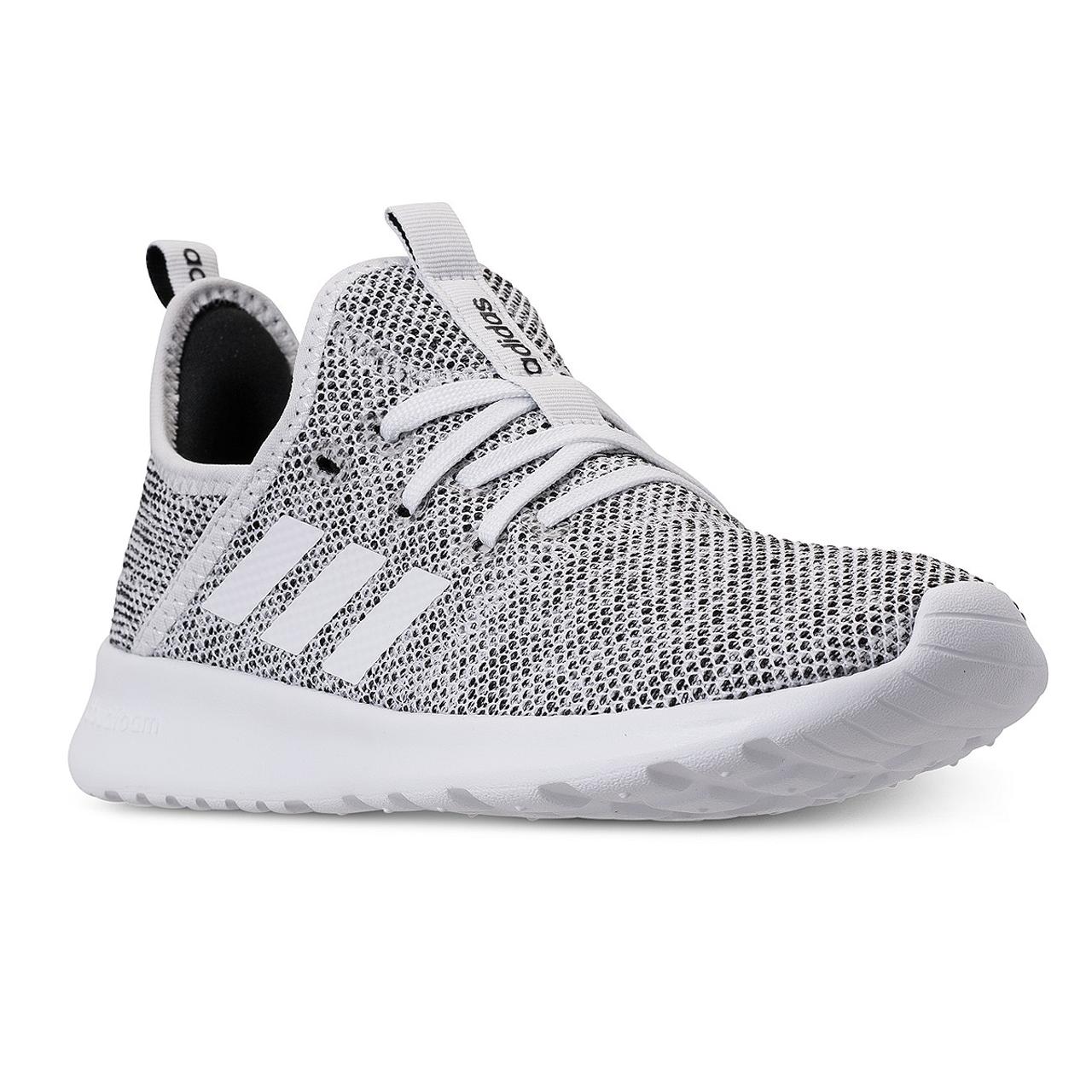 Adidas Cloudfoam Pure Women's Running Sneakers DB0695 - White, White, Black