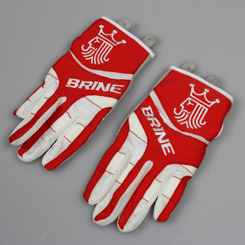 Brine Fire Women's Lacrosse Gloves - Scarlet