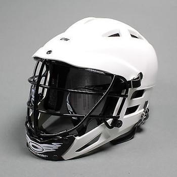 Cascade CS Youth Lacrosse Helmet - White, Black