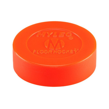 Mylec Floor Hockey Puck - Orange