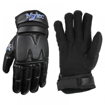 Mylec Street Hockey Gloves - Black