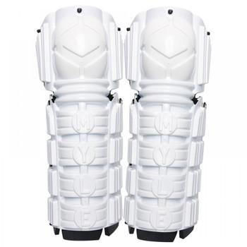 "Mylec Street Hockey Shin Pads 15"" - White"