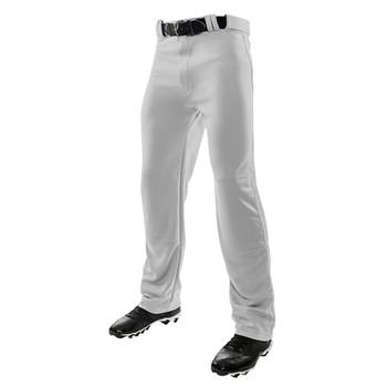 Champro Triple Crown Open Bottom Senior Baseball Pant - Grey
