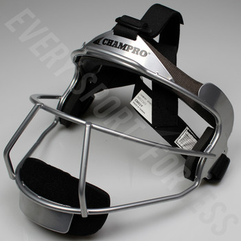 Champro The Grill Softball Fielders Mask Adult - Silver