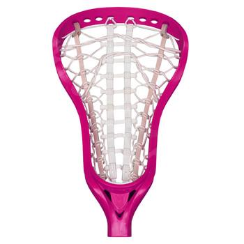 Brine Dynasty Womens Strung Lacrosse Head - Neon Pink