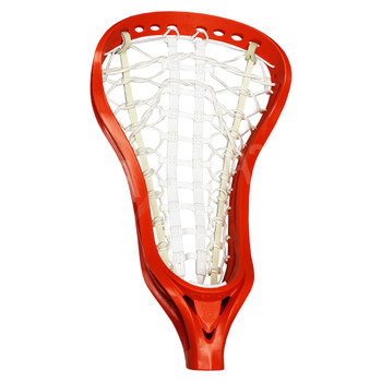 Brine Dynasty Womens Strung Lacrosse Head - Orange