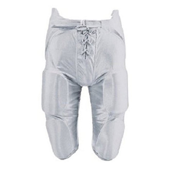 Martin Youth / JR 7 pc Integrated Padded Football Pants - White