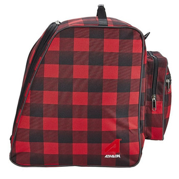 Athalon Light & Go Ski / Snowboard Boot Bag - Red, Black