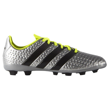 Adidas Ace 16.4 FxG Junior Soccer Cleat S42142 - Silver, Black, Yellow