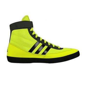 Adidas Combat Speed 4 Senior Wrestling Shoes S77933 - Yellow, Black