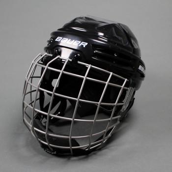 Bauer IMS 5.0 Ice Hockey Helmet Combo - Black