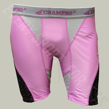 Champro Line-Drive Women's Softball Sliding Shorts - Pink