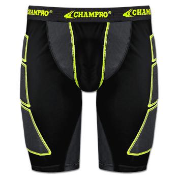 Champro On Deck Senior Sliding Shorts - Black