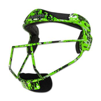 Champro The Grill Softball Adult Fielders Mask - Green Camo