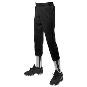 Champro Adult Men's Performance Pull-Up Baseball Pants - Black
