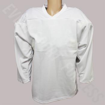 JAMM SPORTS Junior Practice Hockey Jersey - White