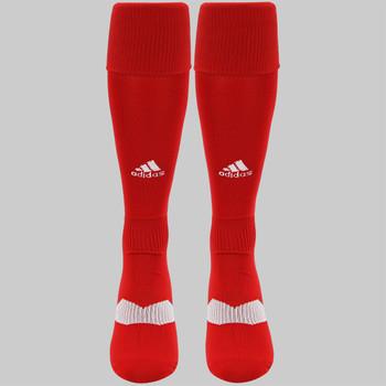 Adidas Metro IV OTC Soccer Socks - Power Red, White, Clear Grey