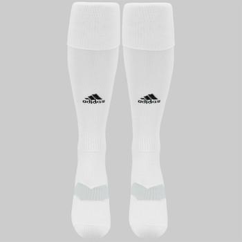 Adidas Metro IV OTC Soccer Socks - White/Black/Clear Grey