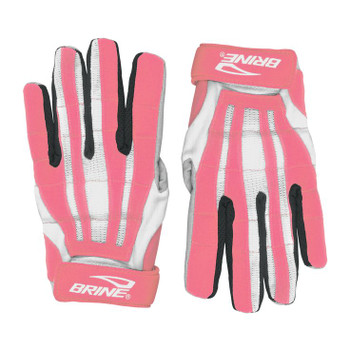 Brine Womens / Girls Lacrosse Fire Gloves - Pink