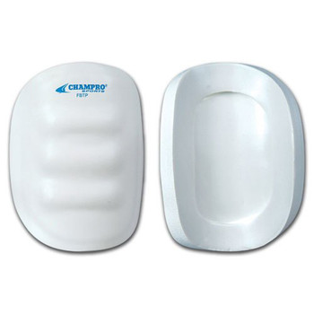 Champro Junior Varsity Vinyl Coated Football Thigh Pad w/ Bumper - White