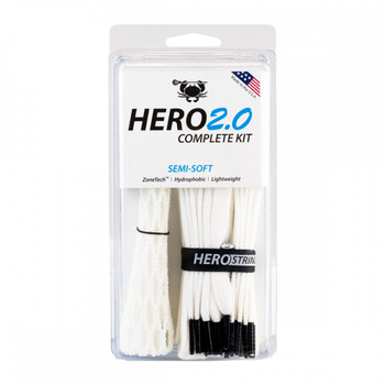 East Coast Dyes Hero 2.0 Semi-Soft Complete Lacrosse Stringing Kit
