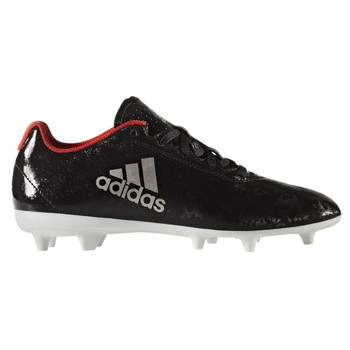 Adidas X 17.4 FG Women's Soccer Cleats BA8564 - Black, White, Red