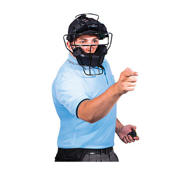 Champro Adult Baseball / Softball Umpire Polo Shirt - Light Blue