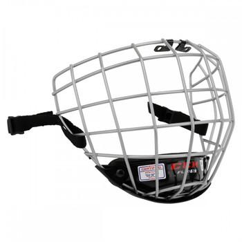 CCM FitLite FL40 Senior Ice Hockey Helmet Cage - Silver