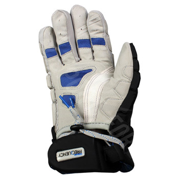 True Frequency Men's Lacrosse Gloves - Black