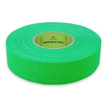 Renfrew Bright Green Cloth Hockey Tape - 24mm (1 Inch)