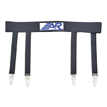 A&R Hockey Garter Belt - Black
