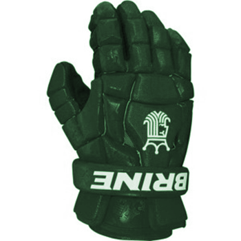 Brine King Superlight 2 Lacrosse Gloves - Forest Green