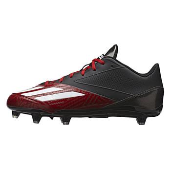 Adidas Adizero 5-Star Low D Football Lacrosse Cleats D70140 - Black 91426ea5c