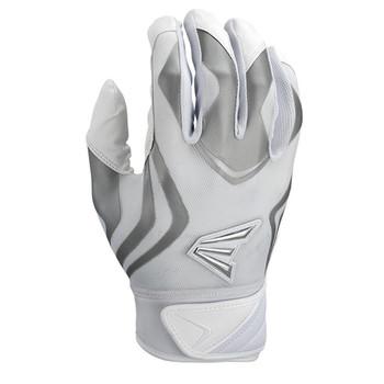 Easton Prowess Womens' Softball Batting Gloves - White, Gray