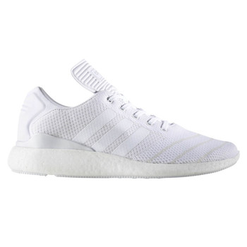 Adidas Busenitz Pure Boost PK Men's Skateboard Shoes BB8376 - White