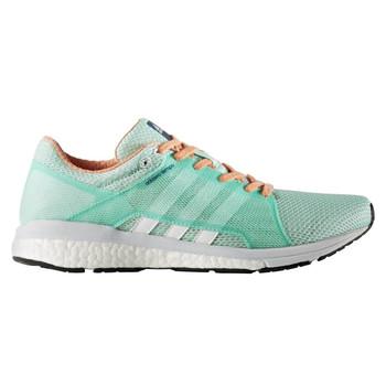 Adidas Adizero Tempo 8 Women's Running Shoes BA8095 - Green, White, Orange